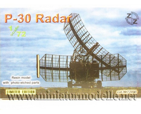 1:72 P-30 Radar military, small batches model