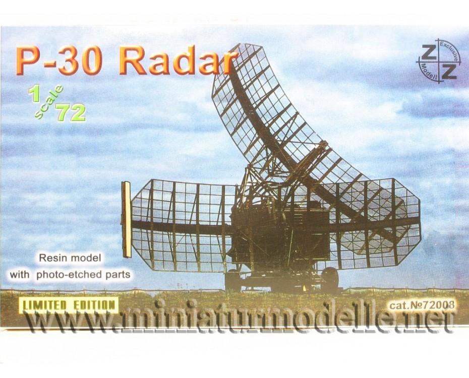 1:72 P-30 Radar military, small batches model