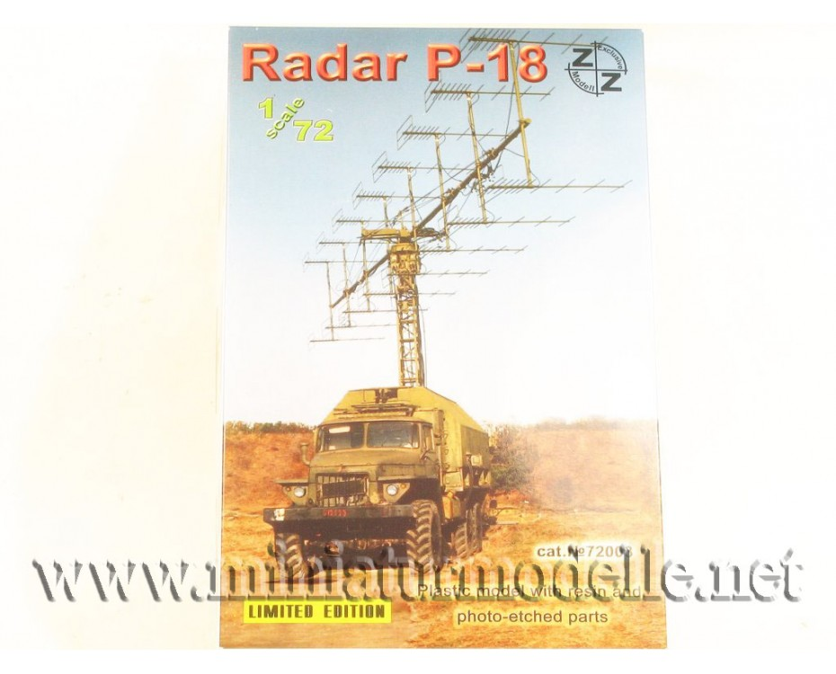 1:72 URAL 375 with radar P-18, military, small batches model