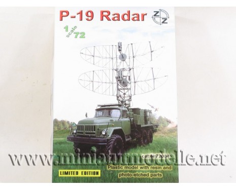 1:72 ZIL 131 with radar P-19, military, small batches model