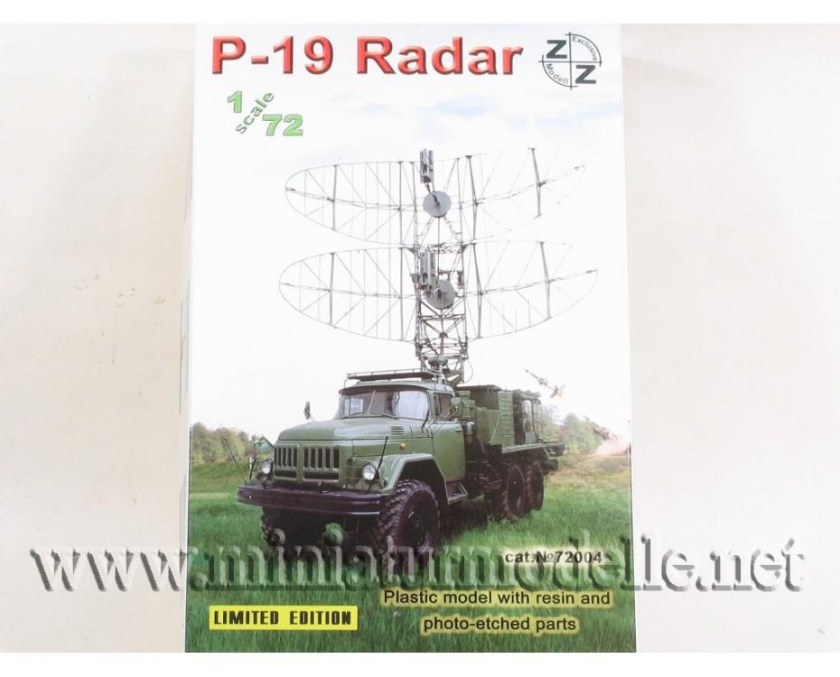 1:72 ZIL 131 mit Radar P-19, Militär, Kleinserien