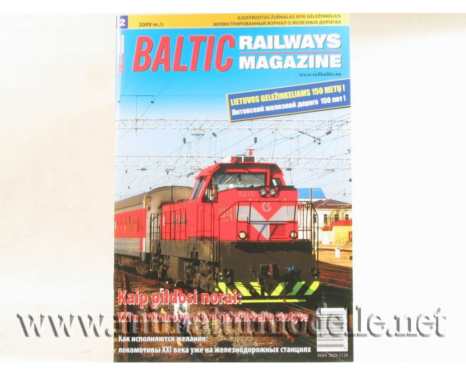 Baltic Railways magazine 2009 #2