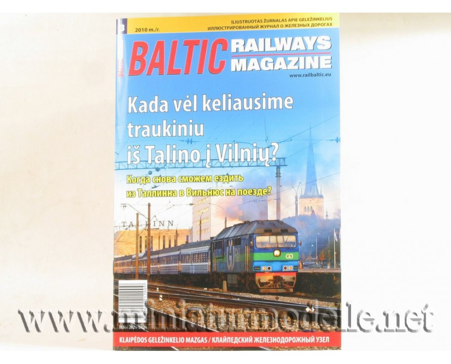 Baltic Railways magazine 2010 #3