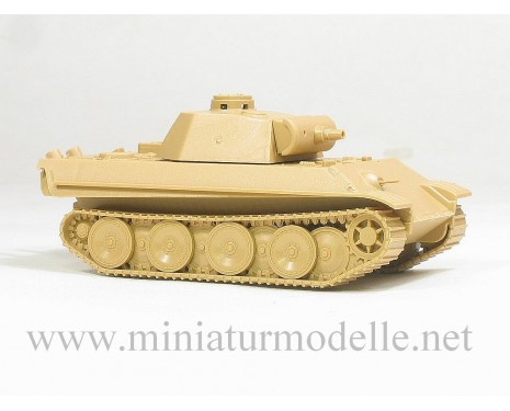 H0 1:87 Panther Sturmmorser 150mm Assault gun, Military