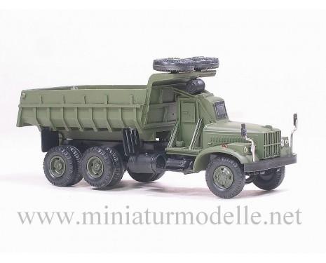 H0 1:87 KRAZ 256 Tschernobil Kipper, Militär, Kleinserie