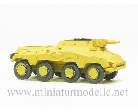 H0 1:87 Schwere Panzerspähwagen Sd.Kfz. 234/3 8-Rad 7.5cm KwK, Militär beige, Kleinserie
