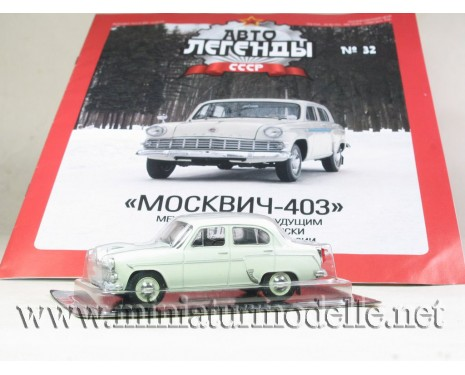 1:43 Moskvitch 403 with magazine #32