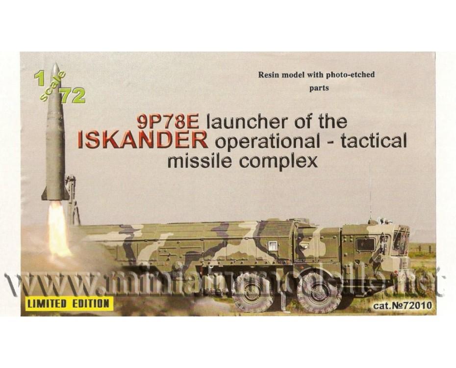 1:72 Raketenwerfer 9P78E ISKANDER, Militär, Kleinserie