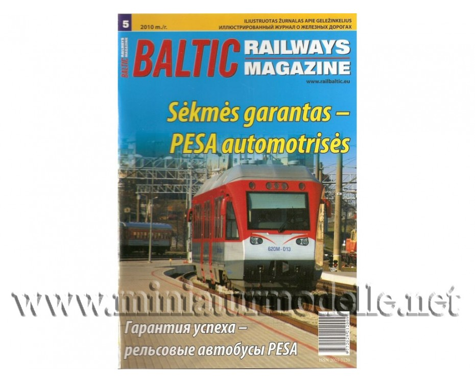 Baltic Railways magazine 2010 #5