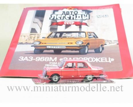 1:43 ZAZ 968 M Zaporozhets with magazine #52