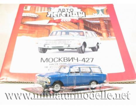 1:43 Moskwitsch 427 mit Zeitschrift #57