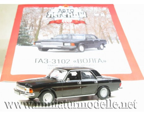 1:43 GAZ 31 3102 with magazine #92