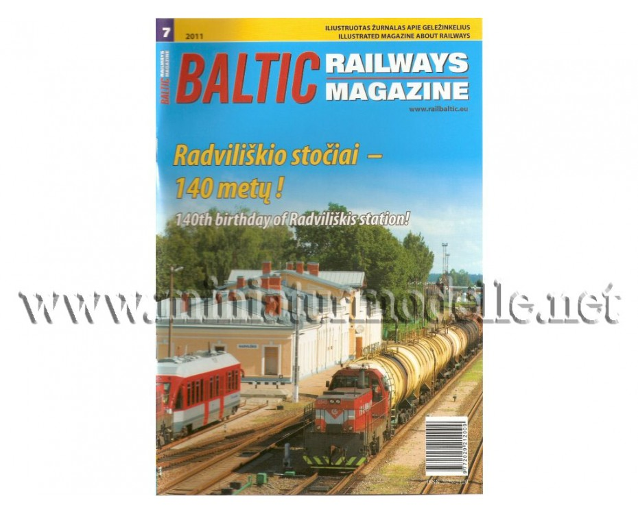Baltic Railways magazine 2011 #7