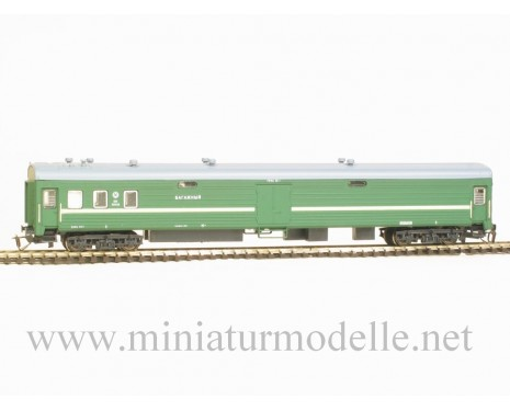 1:120 TT 2114 Baggage van of the RZD livery, era 5