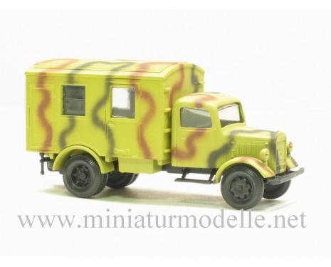 H0 1:87 MB L 3000 Koffer Tarnanstrich Militär