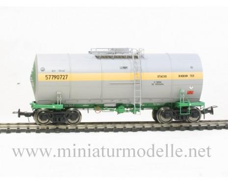 1:87 H0 Kesselwagen mit Behalterisolierung mod. 15-1532 zum Transport von Bitumen der SZD, 4. Epoche, Kleinserie