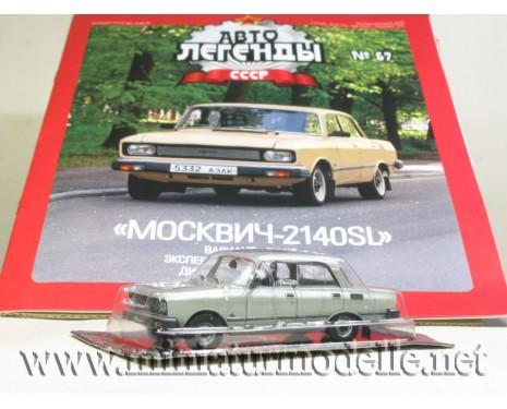 1:43 Moskwitsch 2140 SL mit Zeitschrift #67