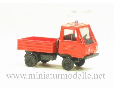 H0 1:87 Multicar M25 Kurz Pritsche, FW Rot