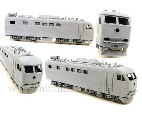 1:87 H0 ChS6 Twin-unit electric locomotive dummy kit, SZD, 4-5 era, small batches model