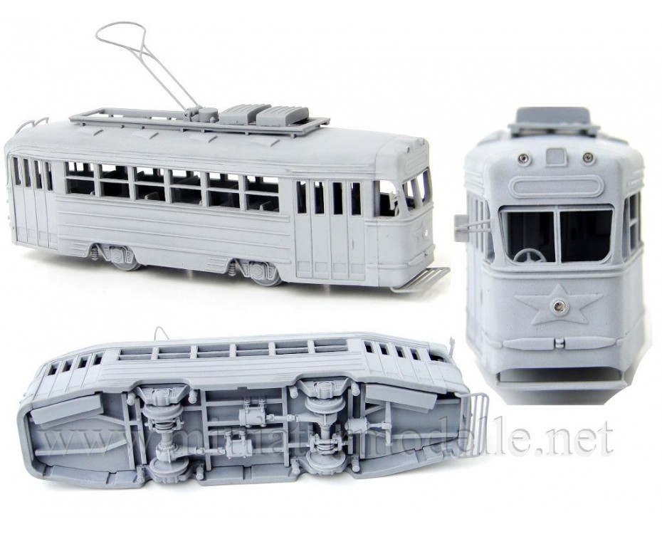 1:87 H0 KTM-1 Tram, small batches model kit