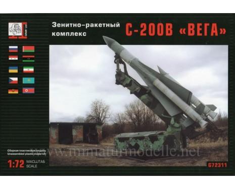 1:72 S 200 V Vega SA-5 Gammon anti aircraft missile system, kit