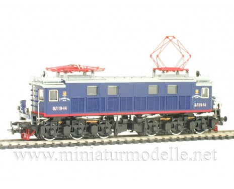 1:87 H0 Electric locomotive class VL 19 blue livery, CCCP, Ep. 3