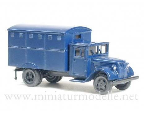 H0 1:87 Ford wood cab 3t closed side, police