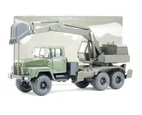 1:43 KRAZ 260 Mobilbagger AOV 4422, Militär