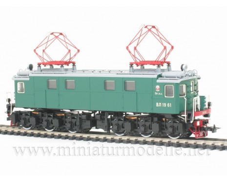 1:87 H0 Electric locomotive class VL 19 green livery, CCCP, Ep. 3