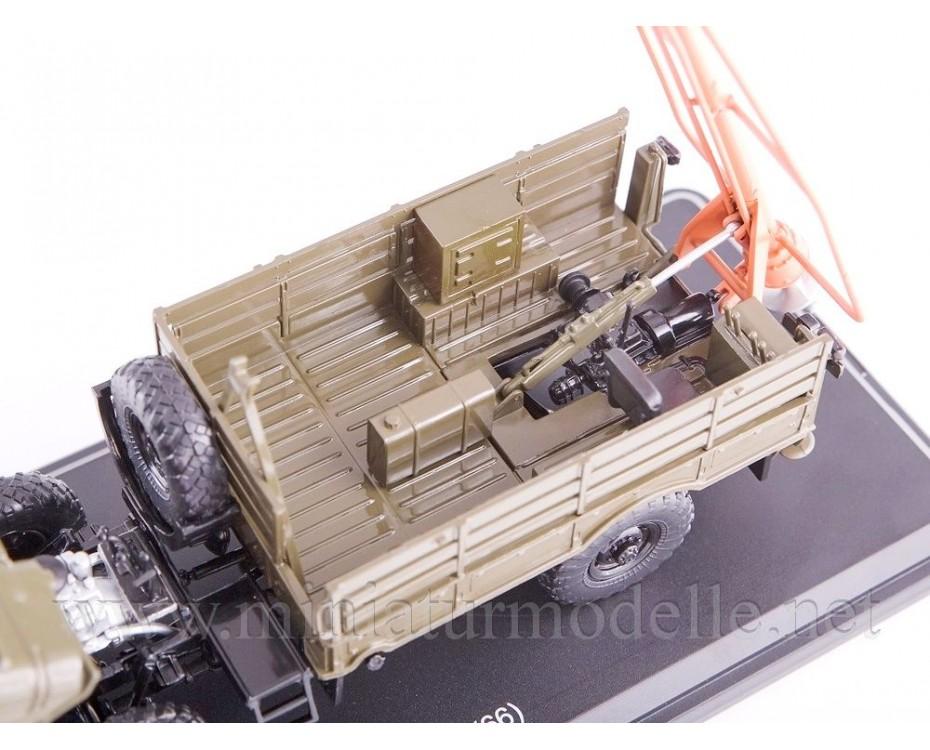 1:43 GAZ 66 Drill machine BM-302, military