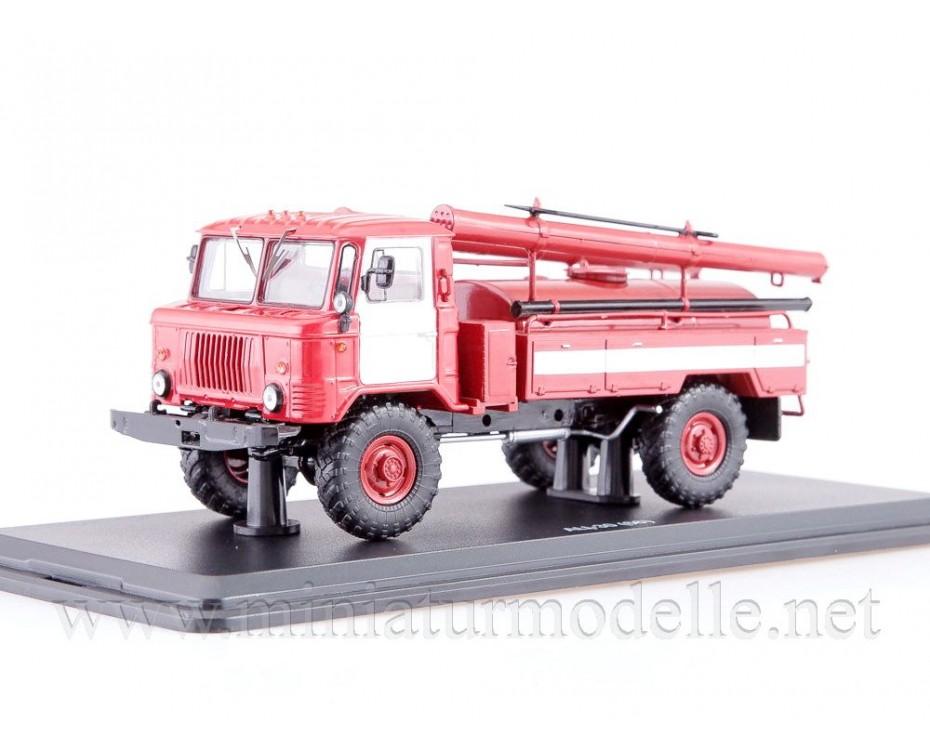 1:43 GAZ 66 Tanklöschfahrzeuge AC-30