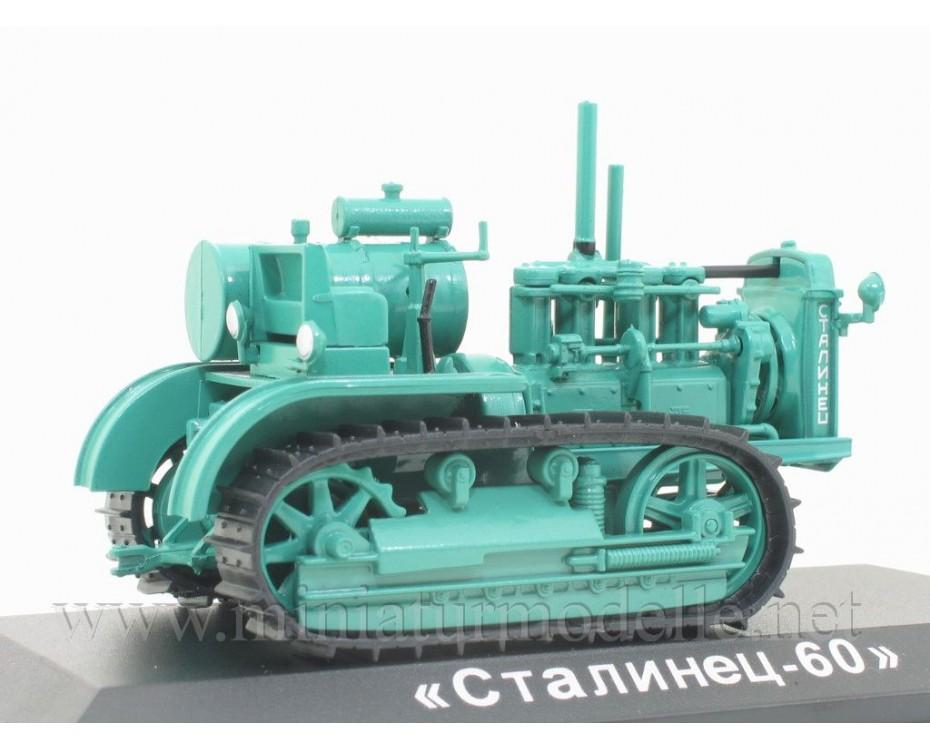 1:43 Stalinez S 60 Raupe Kettentraktor mit Zeitschrift #76