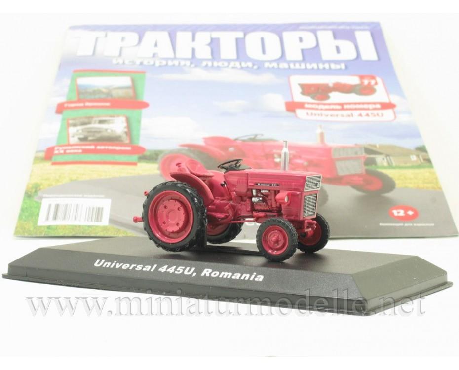 1:43 Universal 445 U UTB Traktor mit Zeitschrift #77