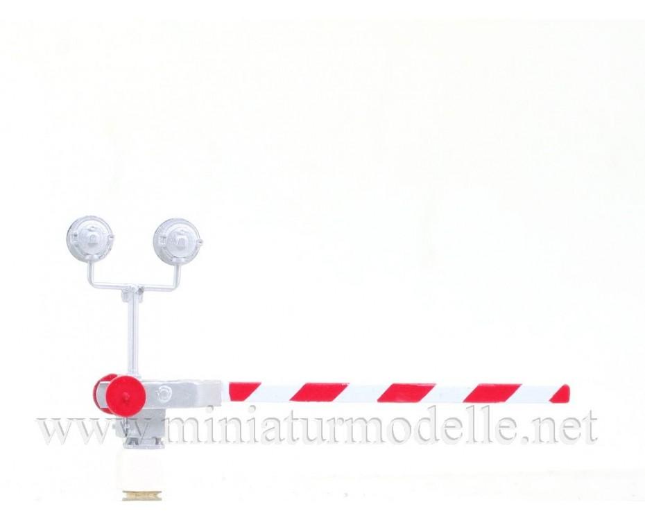 1:87 H0 Beschrankter Bahnübergang Set - 2 Stück, Kleinserien