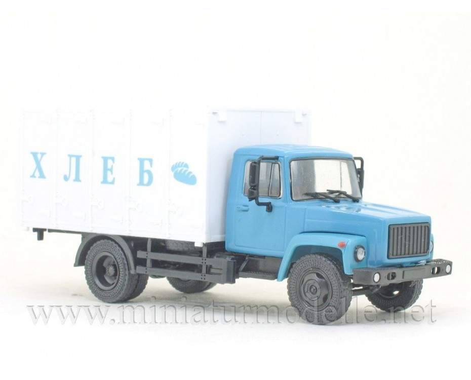 1:43 GAZ 3307 Koffer 27901