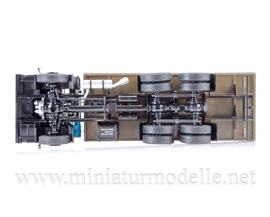 1:43 Tatra 815 V26 flatbed truck with canvas cover, military