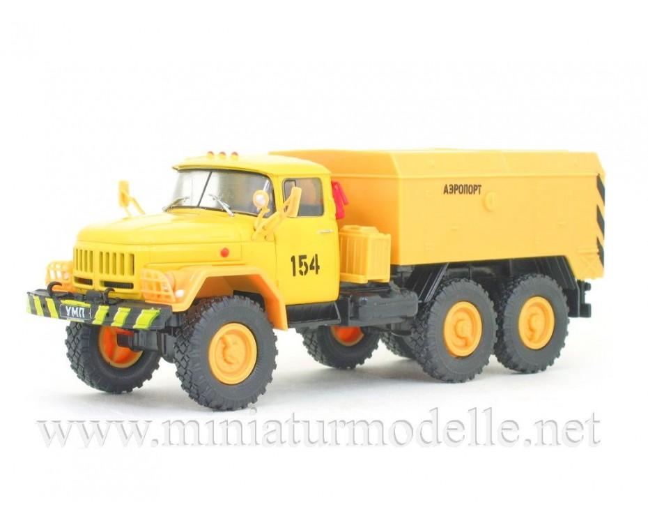 1:43 ZIL 131 Motorvorwärmer UMP 350 mit Zeitschrift #18