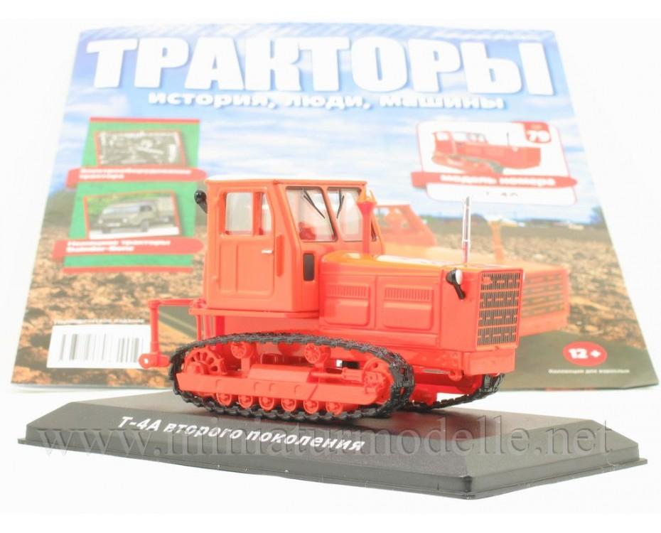 1:43 T 4 A modernisierten Ausführung Raupe Kettentraktor mit Zeitschrift #79