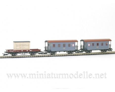 1:120 TT 2204 Nebenbahnzugstet der Russische Eisenbahnen, Epoche 1, Limitierte einmalige Auflage