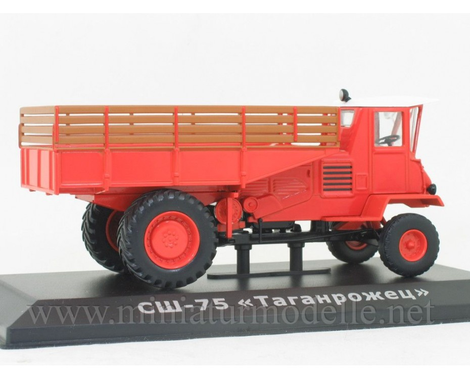 1:43 SSh 75 Taganrozhez Geräteträger Traktor mit Zeitschrift #80
