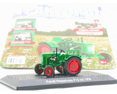 1:43 Fendt Dieselross F15 H6 1956 tractor with magazine #81