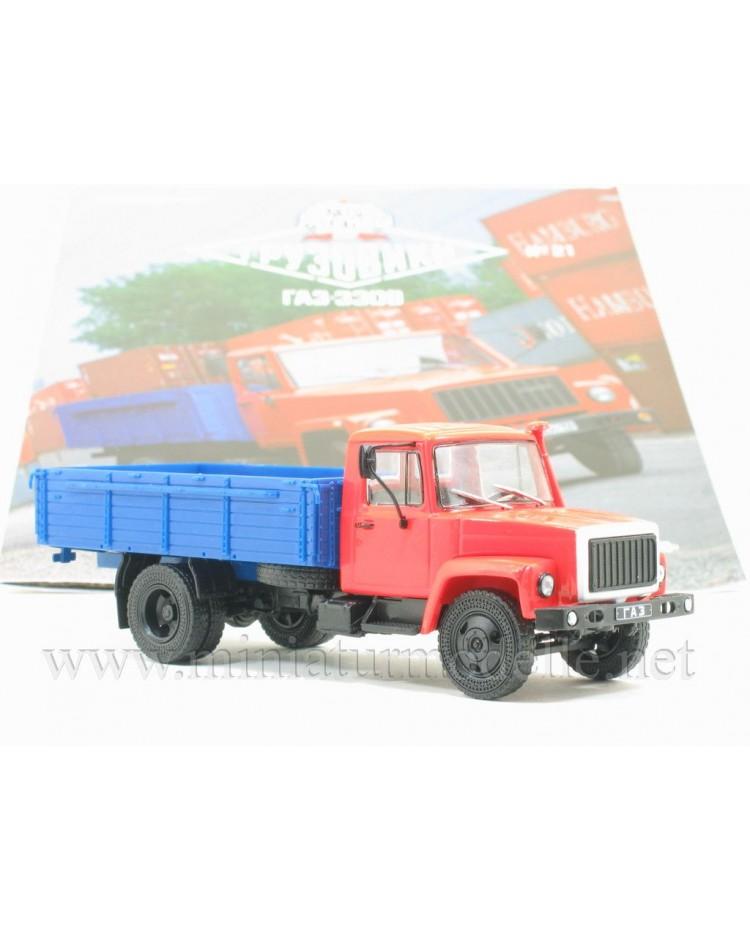 1:43 GAZ 3309 Pritsche mit Zeitschrift #21