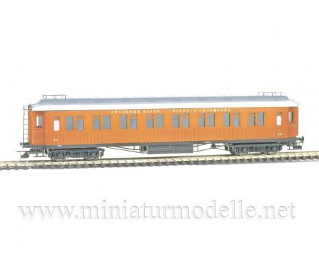 1:120 TT 2410 Schlafwagen Bauart der CIWL fur Roter Pfeil Expresszug, SZD Epoche 3, Limitierte einmalige Auflage