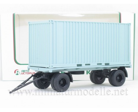 1:43 GKB 8350 container trailer