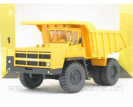 1:43 BELAZ 7522 second series quarry dump truck