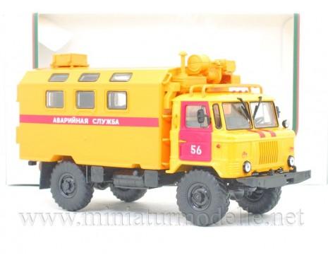 1:43 GAZ 66 Hilfsdienst Koffer K 66