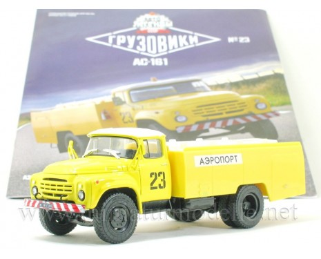 1:43 ZIL 130 Airport vacuum truck AS 161 with magazine #23