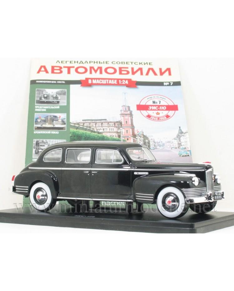 1:24 ZIS 110 Limousine mit Zeitschrift #7