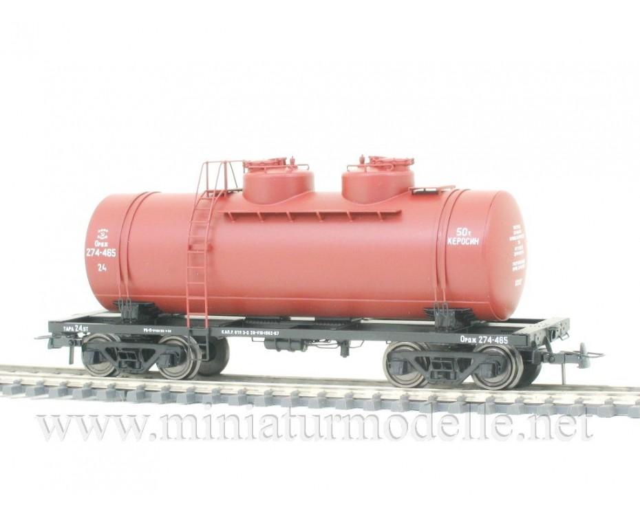 1:87 H0 Kesselwagen 50t zum Transport von Petroleum der CCCP, 3. Epoche, Kleinserie