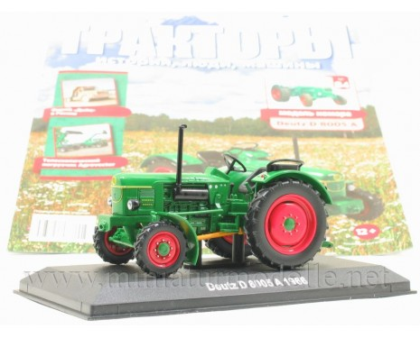 1:43 Deutz D8005 A 1966 tractor with magazine #84